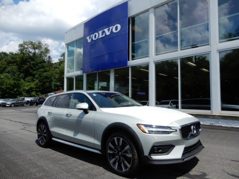 Birch Light Metallic Volvo V60 Cross Country T5 AWD.  Click to enlarge.