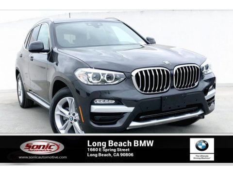 Dark Graphite Metallic BMW X3 xDrive30i.  Click to enlarge.
