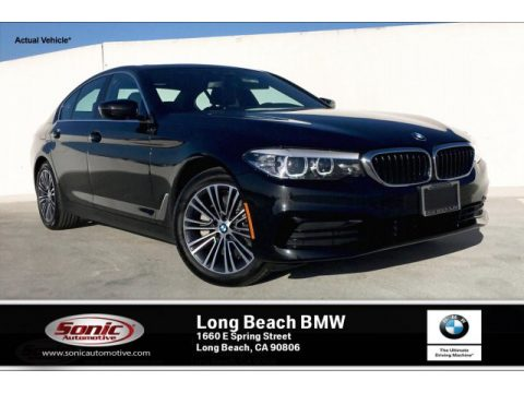 Black Sapphire Metallic BMW 5 Series 530i Sedan.  Click to enlarge.
