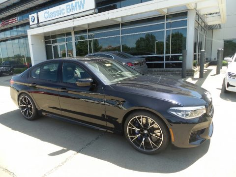 Azurite Black Metallic BMW M5 Competition.  Click to enlarge.