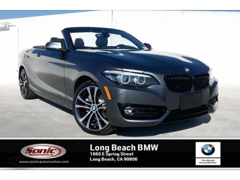 Mineral Grey Metallic BMW 2 Series 230i Convertible.  Click to enlarge.