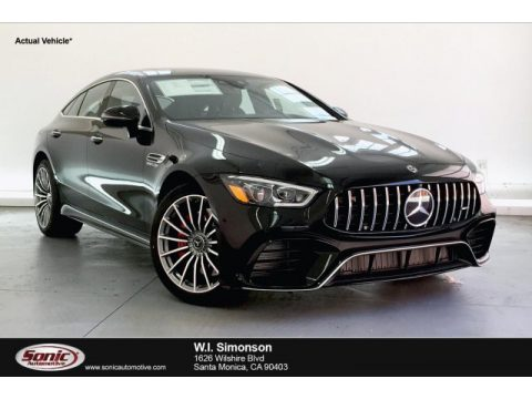 Obsidian Black Metallic Mercedes-Benz AMG GT 63.  Click to enlarge.