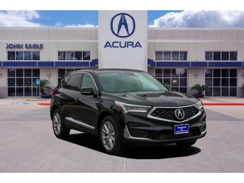 Majestic Black Pearl Acura RDX FWD.  Click to enlarge.