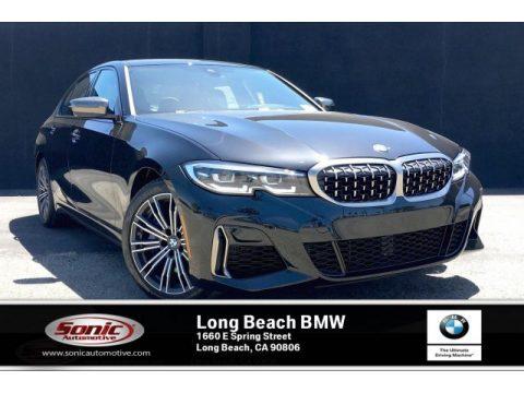 Black Sapphire Metallic BMW 3 Series M340i Sedan.  Click to enlarge.