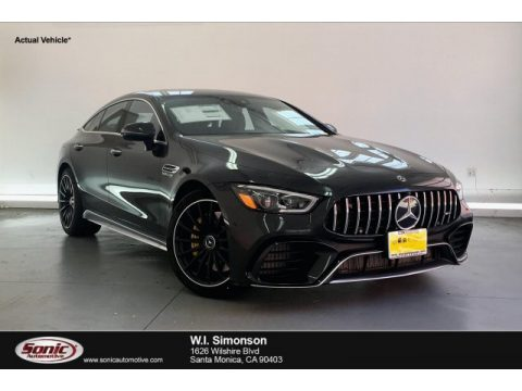 Graphite Grey Metallic Mercedes-Benz AMG GT 63 S.  Click to enlarge.