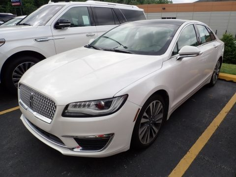 White Platinum Lincoln MKZ Select.  Click to enlarge.