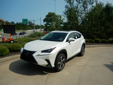 Eminent White Pearl Lexus NX 300 AWD.  Click to enlarge.