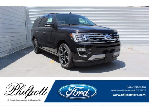 Agate Black Metallic Ford Expedition Limited.  Click to enlarge.
