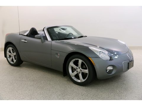 Sly Gray Pontiac Solstice Roadster.  Click to enlarge.