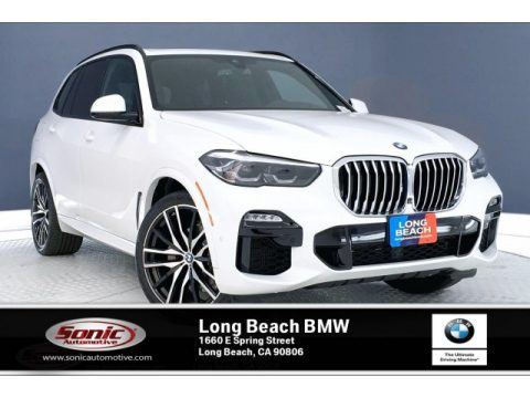 Alpine White BMW X5 xDrive40i.  Click to enlarge.