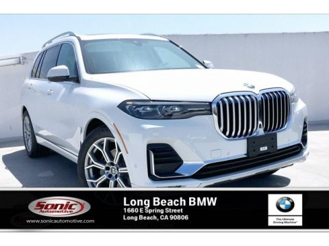 Alpine White BMW X7 xDrive40i.  Click to enlarge.
