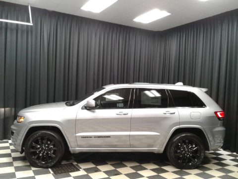 Billet Silver Metallic Jeep Grand Cherokee Altitude 4x4.  Click to enlarge.