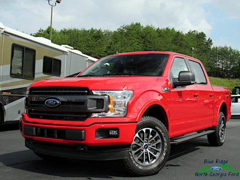 Race Red Ford F150 XLT SuperCrew 4x4.  Click to enlarge.