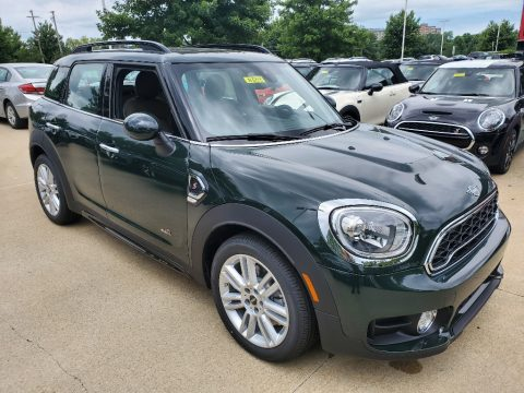 JCW Rebel Green Mini Countryman Cooper S All4.  Click to enlarge.