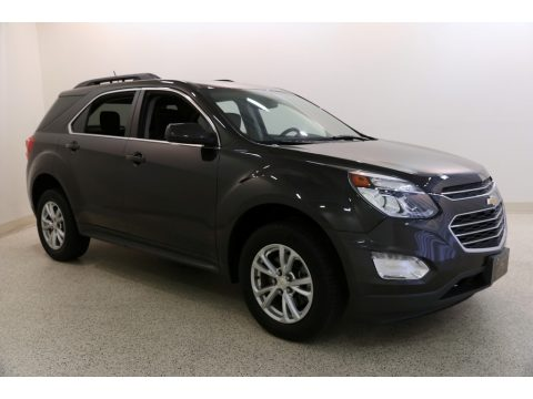 Tungsten Metallic Chevrolet Equinox LT AWD.  Click to enlarge.