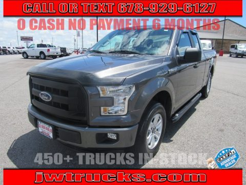 Magnetic Metallic Ford F150 XL SuperCab.  Click to enlarge.