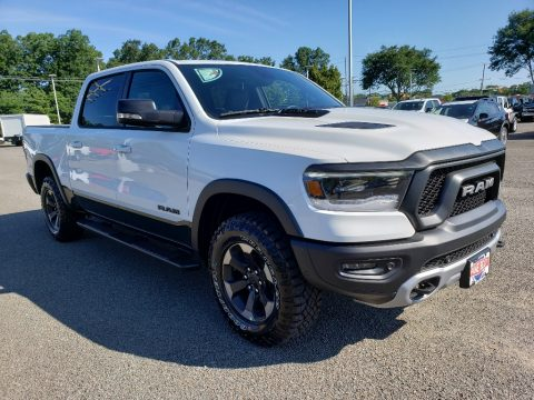 Bright White Ram 1500 Rebel Crew Cab 4x4.  Click to enlarge.