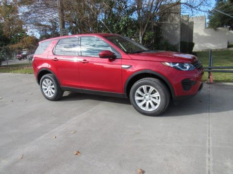 Firenze Red Metallic Land Rover Discovery Sport SE.  Click to enlarge.