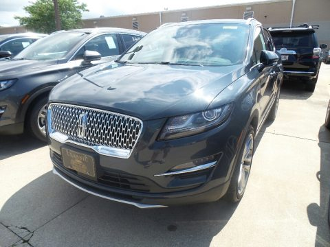 Baltic Sea Green Metallic Lincoln MKC Reserve AWD.  Click to enlarge.
