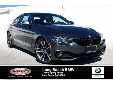 Mineral Grey Metallic BMW 4 Series 430i Coupe.  Click to enlarge.