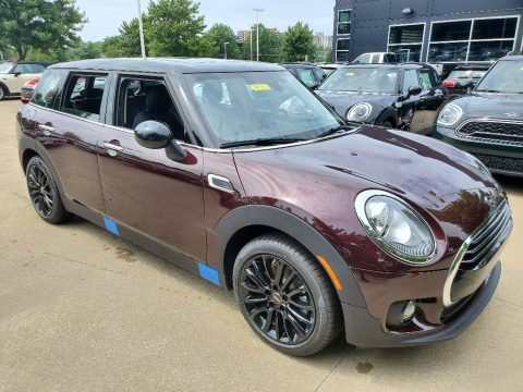 Pure Burgundy Mini Clubman Cooper.  Click to enlarge.