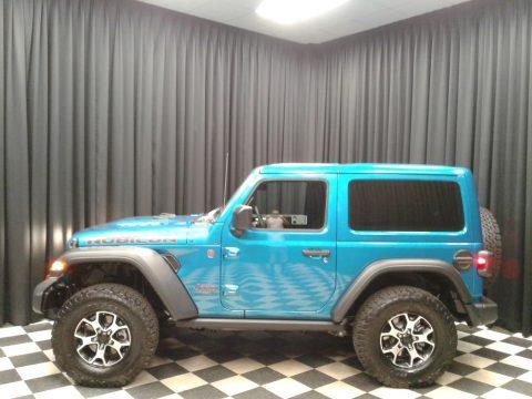 Bikini Pearl Jeep Wrangler Rubicon 4x4.  Click to enlarge.