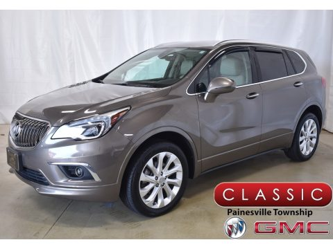 Bronze Alloy Metallic Buick Envision Premium AWD.  Click to enlarge.