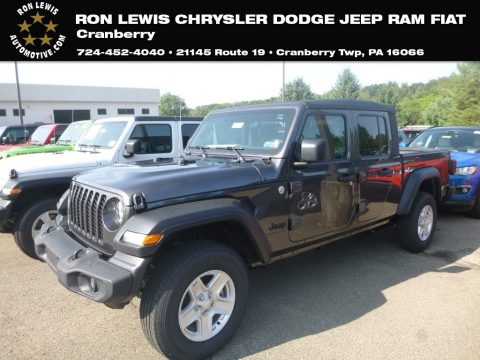 Granite Crystal Metallic Jeep Gladiator Sport 4x4.  Click to enlarge.