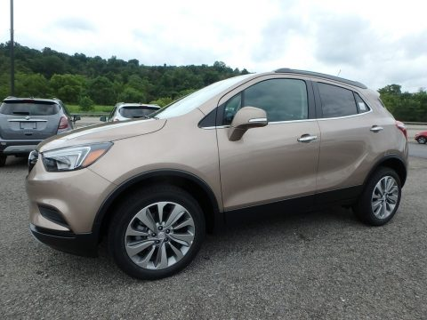 Coppertino Metallic Buick Encore Preferred AWD.  Click to enlarge.