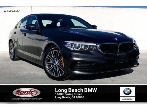 Dark Graphite Metallic BMW 5 Series 530i Sedan.  Click to enlarge.
