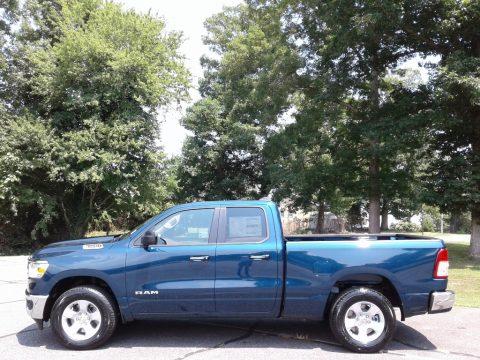 Patriot Blue Pearl Ram 1500 Big Horn Quad Cab 4x4.  Click to enlarge.