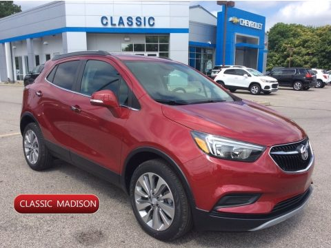 Winterberry Red Metallic Buick Encore Preferred AWD.  Click to enlarge.