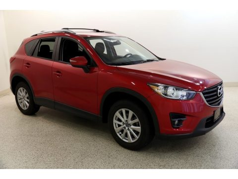 Soul Red Metallic Mazda CX-5 Touring AWD.  Click to enlarge.