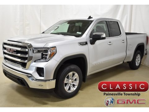 Quicksilver Metallic GMC Sierra 1500 SLE Double Cab 4WD.  Click to enlarge.
