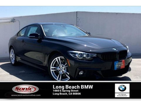 Black Sapphire Metallic BMW 4 Series 430i Coupe.  Click to enlarge.