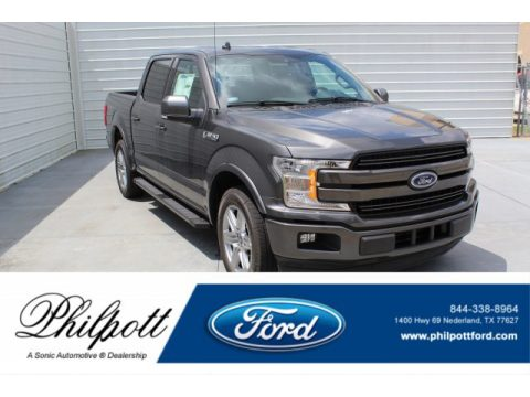 Magnetic Ford F150 Lariat SuperCrew.  Click to enlarge.