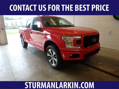 Race Red Ford F150 STX SuperCrew 4x4.  Click to enlarge.