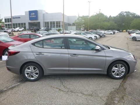 Fluid Metal Hyundai Elantra Value Edition.  Click to enlarge.