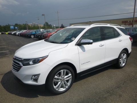 Summit White Chevrolet Equinox Premier AWD.  Click to enlarge.