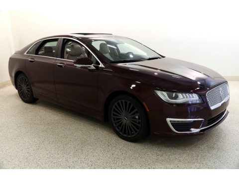 Burgundy Velvet Lincoln MKZ Reserve.  Click to enlarge.