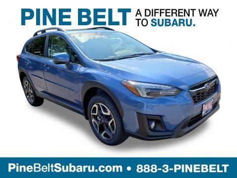 Quartz Blue Pearl Subaru Crosstrek 2.0i Limited.  Click to enlarge.
