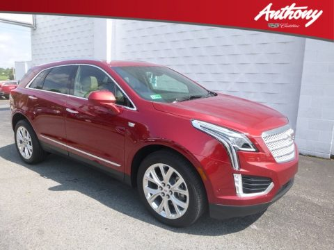 Red Horizon Tintcoat Cadillac XT5 Premium Luxury AWD.  Click to enlarge.