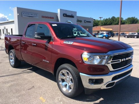 Delmonico Red Pearl Ram 1500 Big Horn Quad Cab 4x4.  Click to enlarge.