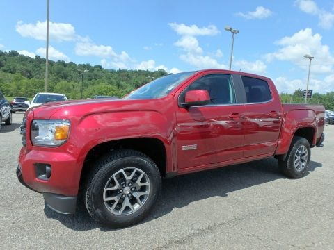 Red Quartz Tintcoat GMC Canyon All Terrain Crew Cab 4WD.  Click to enlarge.