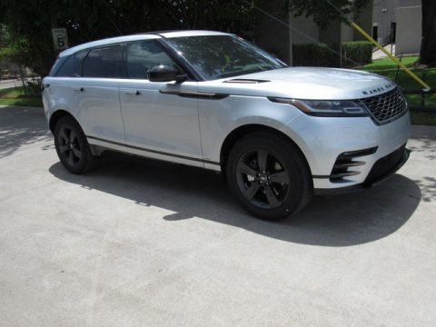 Indus Silver Metallic Land Rover Range Rover Velar R-Dynamic S.  Click to enlarge.