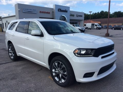 Vice White Dodge Durango GT AWD.  Click to enlarge.