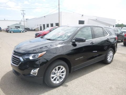 Mosaic Black Metallic Chevrolet Equinox LT AWD.  Click to enlarge.