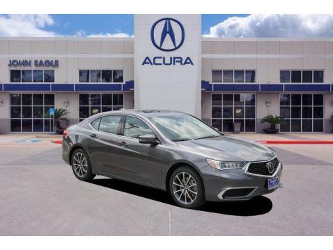 Modern Steel Metallic Acura TLX Sedan.  Click to enlarge.