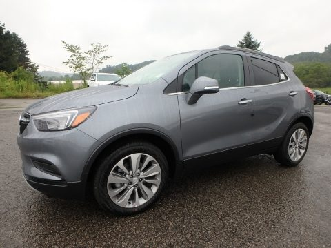 Satin Steel Metallic Buick Encore Preferred.  Click to enlarge.