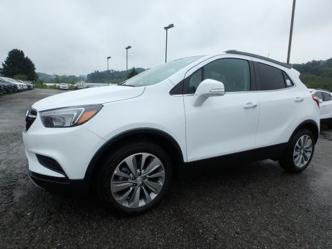 Summit White Buick Encore Preferred.  Click to enlarge.
